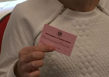 Bristol city council Pink Card