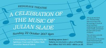 A Celebration of the Music of Julian Slade
