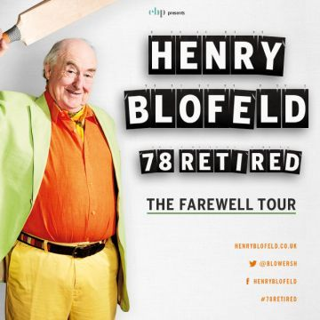 HENRY BLOFELD: 78 RETIRED (SOLD OUT)