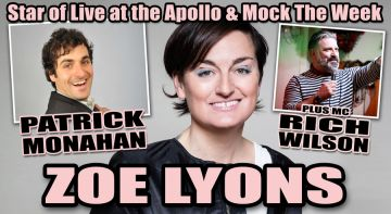 Zoe Lyons & Patrick Monahan Comedy Night