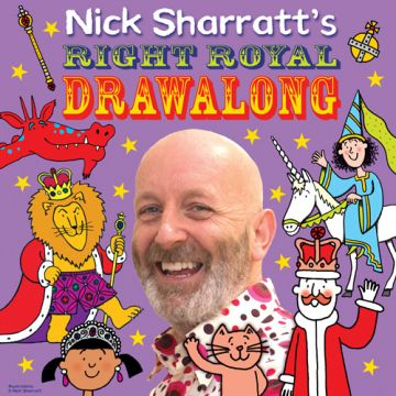 Nick Sharratt's Right Royal Drawalong