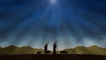 The Nativity, While Shepherds Watched... presented by Bristol Old Vic Theatre School